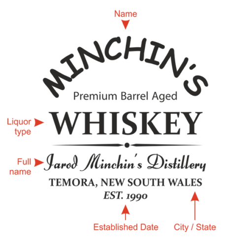 Personalised 'Distillery Design'