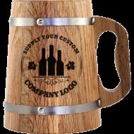 Corporate Logo Design Beer Mug