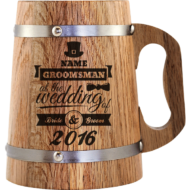 Beer Mug Wedding Design