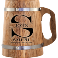 Personalised 'Aged with Distinction' Beer Mug